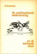De multinationale onderneming en de nationale staat - M. Fennema