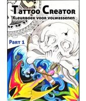 Tattoo creator :kleurboek voor volwassenen