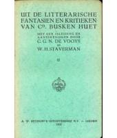 Uit de litterarische fantasien en kritieken - Cd. Busken Huet II